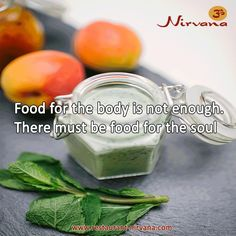 #Food for the body is not enough. There must be food for the soul. Get the fresh #Indianfood @ http://restaurant-nirvana.com/menu_glimpse.html
