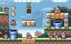 Have you played this ga...? Well, never mind. #pixelart #gameart #game #games #gaming #videogames #SuperMarioWorld #Nintendo #SuperNintendo https://t.co/WeVxgcRlAB
