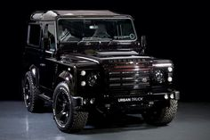 The UK-based aftermarket gurus at Urban Truck have applied their macho brand of magic to a vehicle that's already quite loaded, the Land Rover Defender, an