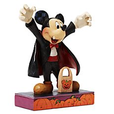 Mickey Mouse ''Count Mickey Vampire'' Figure by Jim Shore