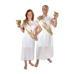 Our Toga Set is perfect for a Greek, Roman or Italian themed event, a Halloween party, Olympic party and more! Each Toga party costume set… Italian Themed Parties, Italian Party, Party Accessories, Costume Accessories, Roman Toga, Female Pirate Costume, Pirate Costumes, Toga Party, Medieval Gown