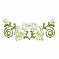 Wind Bell Embroidery Embroidery Design Pack: Butterfly Decor