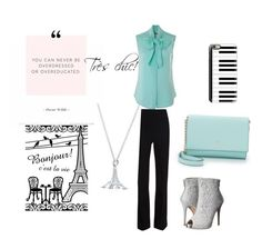"""""""Très Chic!"""" by livvy-angel on Polyvore featuring Moschino, Thierry Mugler, Lauren Lorraine, Casetify and Kate Spade"""