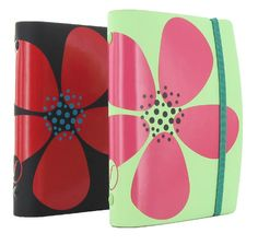 New Filofax Organizers 2012- Petal in Black and Mint