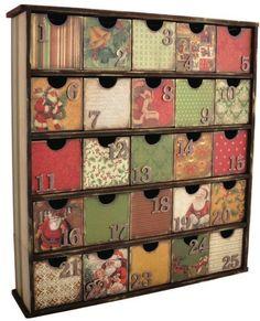 Calendarios en cajas