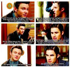 Glee + Hunger Games = :D