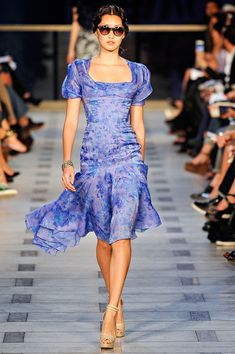 #ZacPosen Spring 2012 RTW - Review - Collections - Vogue