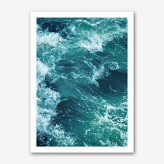 Ocean Waves 1 Print by Vivid Atelier