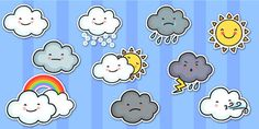 Weather Symbol Cut Outs