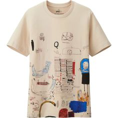 Uniqlo US Men Sprz Ny Graphic T Shirt (Jean-Michel Basquiat)