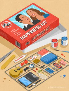 John Holcroft illustrations draw startling attention to human flaws