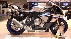 2015 Yamaha YZF-R1 M - Walkaround - Debut at 2014 EICMA Milan Motorcycle Exhibition