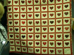 Hearts Quilt - Jimmie J