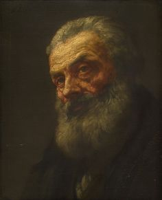 Portrait of an Old Man (Alphonse Legros - )