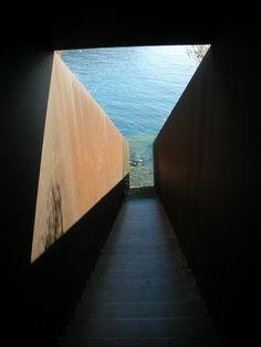 Projets de paysage | Une architecture de cadres | Dani Karavan | sculpture | Jardin du souvenir | cadre | Walter Benjamin |