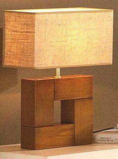 base para hacer con los restos de la madera del artesanado Deco Luminaire, Driftwood Lamp, Candle Lamp, Wooden Lamp, Diy Holz, Wood Furniture, Furniture Plans, System Furniture, Garden Furniture