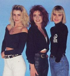 80s Bananarama Fashion