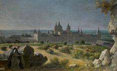 Houasse, Michel-Ange. View of the Monastery of El Escorial, 1722.