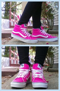 Vans Hi Sk8 Pink