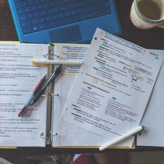 just another studyblr: Photo College Notes, School Notes, Keep Calm And Study, Study Organization, Pretty Notes, Work Motivation, Study Hard, Always Learning, Studyblr