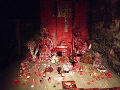 Shrine installation A Edwards