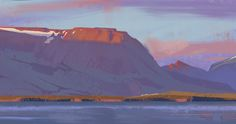 A few very quick landscape studies from Iceland and Washington. I've been working on putting down color more confidently. Most of these are little plein air gouache studies - two of them are digital plein air studies from my tablet. Casein Paint, Poster Colour, Gouache Painting, Tempera, Study, Watercolor, Mountains, Digital, Artwork