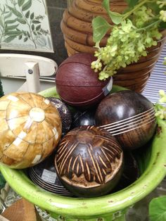 What To Put In A Bowl For Decoration | Decorative Design