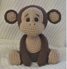 Amigurumi scimmietta