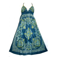 Blue Hippie Dress from Agan Traders.
