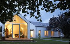 converted house with new extension and studio building | fabi bda architects