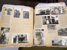 L.M. Montgomery scrapbook, University of Guelph Library, photo by Bernadeta Milewski