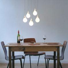 Liquid Light Suspension Drop 2 Xs 5 chandelier Design Next