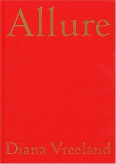 Allure by Diana Vreeland, Christopher Hemphill