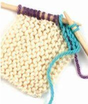 #Knitting #Tutorial: I-Cord Finishing. This is a neat and simple way to give a classy finish to many knitted projects. from Knitting Daily
