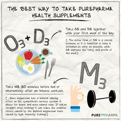 The Best Way To Take PurePharma Health Supplements
