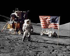 Apollo 17 Jack Schmitt on Moon NASA Photo Print for Sale