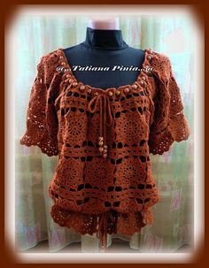 Flower tunic: pattern and tutorial