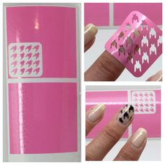 2016 New 1sheet Nail Vinyls Irregular Stamping Template Stencil Stickers Hollow Sticker Guide Manicure Tools