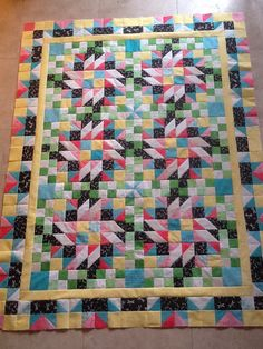 ❤ =^..^= ❤  Wavewatcher's Grand Illusion ~ Bonnie Hunter's 2014 Mystery Quilt
