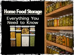 Home Food Storage: Everything You Need to Know