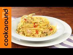 Spaghetti tonno e limone - YouTube