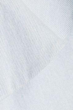 APIECE APART - Florian Off-the-shoulder Ruffled Denim Top - Light denim - US10