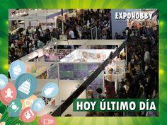 HOY ÚLTIMO DÍA! Vení y encontrá todo lo que buscas!! #Expohobby #Fiestas #Decoración #Veni #EncontraLoQueBuscas #Buses #Talleres #VentaDeInsumos #MesasExpositoras #LosMejoresProfesionales #LasMejoresMarcas #Ambientaciones #Shows #CabinaSelfie #Sorteos #GrandesPremios #Hoy #TengoGanasDe #IrAExpohobby