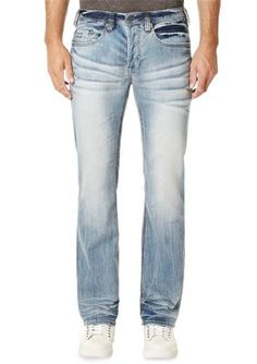 BUFFALO DAVID BITTON Indigo King-X Slim Boot Jeans