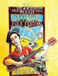 Celebrate Woody Guthrie's 100th birthday this weekend at the Woody Guthrie Folk Festival in Okemah, OK! Read more about the event at tulsapeople.com