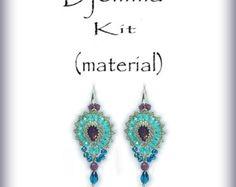 Djemma.Beading Kit.(material)Djemma.Exclusive earrings