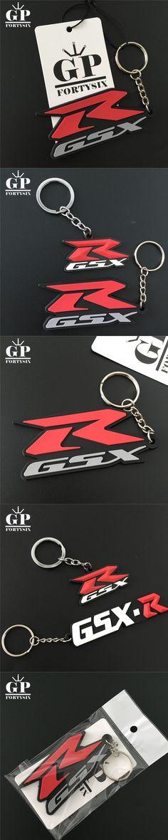 GPFORTYSIX Motorcycle Accessories Parts Motocross Motorbike Motorcycle Key Chain Keychain Key Rings For SUZUKI GSXR600/750/1000
