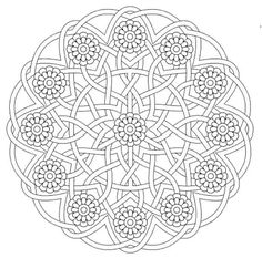 Mandala Creative Haven Groovy Mandalas Coloring Book Dover Publications