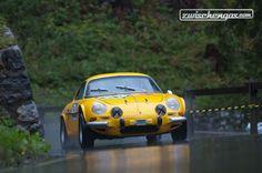 Alpine Renault A 110 1600S (1972) - am Bergrennen Arosa ClassicCar 2012.  © Balz Schreier für Zwischengas