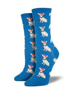 Gre Rry Unisex Fun Dress Socks Colorful Funky Socks Chihuahua Dog Animal Socks